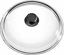 Eurolux Topfdeckel Glas 24 cm Vollglas