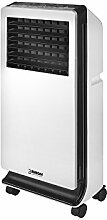 Eurom Aircooler Klimaanlage Digitaler Luftkühler mit Wasserkühlung • Ventilator • Lufterfrischer • 3 Leistungsstufen • energiesparend • Heizgerä