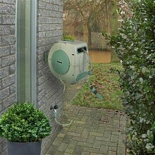 Eurom Wand-Schlauchbox SL20 20+2 Meter PVC