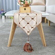 Europ?ische Tischl?ufer/Dekorativer Tisch Bunting/Bestickte Einzelbett Schal/Moderne TV-M?bel umfasst-B 30x180cm(12x71inch)