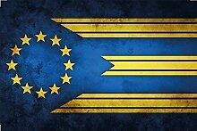 Europa Europe Fahne Flagge Flag Blechschild Schild