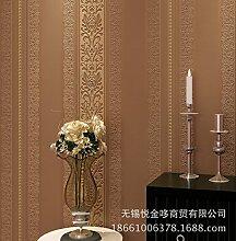 Europa geprägte Streifen Tapete moderne Jane Sofa Wohnzimmer Schlafzimmer Esszimmer TV Hintergrund Vliestapete , y2066 bronze gold embossed