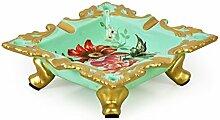 Europäisch anmutende kreative Keramik Aschenbecher/Business-Büro Dekoration Aschenbecher-A