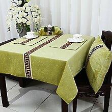 Europäisch Anmutende Pastorale Tischdecke/Klassischen,Moderne,Simple,Chinesische Art,Esstisch,Tee Tischdecke-O 130*180cm(51x71inch)