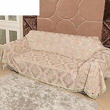 Europäisch Anmutende Sofa All-inclusive/Sofa-handtuch/Volle Deckung Sofabezug/Anti-rutsch-gewebe-sofa-tuch-B 180x180cm(71x71inch)