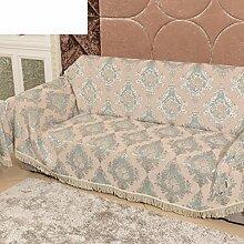 Europäisch Anmutende Sofa All-inclusive/Sofa-handtuch/Volle Deckung Sofabezug/Anti-rutsch-gewebe-sofa-tuch-G 180x320cm(71x126inch)