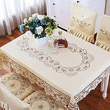 Europäisch anmutenden bestickte tischdecke,pastorale tischdecke,teetisch handtuch-A 57x118cm(22x46inch)