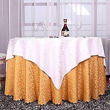 Europäisch Anmutenden Bestickte Tischdecke,Polstermöbel Rechteckig Gerundet Couchtisch Tuch,Kunst Stoff Tisch Läufer Tischdecke-K Durchmesser220cm(87inch)