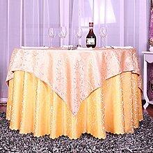 Europäisch Anmutenden Bestickte Tischdecke,Polstermöbel Rechteckig Gerundet Couchtisch Tuch,Kunst Stoff Tisch Läufer Tischdecke-J Durchmesser220cm(87inch)