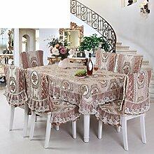 Europäisch anmutenden Garten Tischdecke Tischtuch