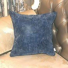 Europäisch anmutenden Leder getuftet Kissen/ EPE-Kissen/Sofa-Bett Umarmung Kissenbezug-B 40x60cm(16x24inch)VersionB
