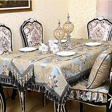 Europäisch,blue,runder tisch tuch/tee tischdecke/tischtuch/kühlschrank-cover/tischdecke-A 120x180cm(47x71inch)