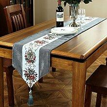 Europäisch,chinesisch-art tischläufer/caterpillar,moderne,chinesische bett-flagge/tischläufer-A 33x250cm(13x98inch)