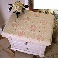 Europäisch,drucken tischdecke/bedside-tischdecke/tv schrank tuch/dust cover coffee table mat/tischdecke/pvc,kunststoff tischdecken-F 50x100cm(20x39inch)