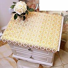 Europäisch,drucken tischdecke/bedside-tischdecke/tv schrank tuch/dust cover coffee table mat/tischdecke/pvc,kunststoff tischdecken-C 50x240cm(20x94inch)