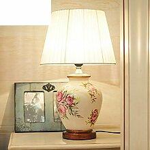Europäisch,Gartenleuchten/Wärme,Schlafzimmer,Bett,Kreative Lampe/Mode,Studie,Einfache Moderne Lampen/Living Room,Keramik Lampe-A