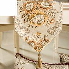 Europäisch,luxus-tischläufer/gehobenen sie,mode coffee table runner/bett-runner-A 30x150cm(12x59inch)