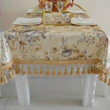 Europäisch,mode,einfache tischdecke/moderne,ländlichen,drucken tischdecke-A 90x90cm(35x35inch)