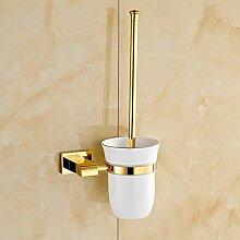 Europäische All-Messing Bad-Accessoires WC-Bürste