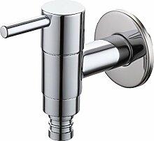 Europäische alle Kupfer Wasserhahn im Waschbecken
