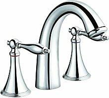 Europäische alle Kupfer Wasserhahn Waschtisch