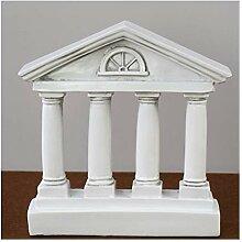 Europäische Altgriechische Tempel Hause