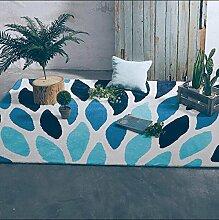 Europäische Art-einfacher Sofa-Büro-Teppich, Wohnzimmer-Kaffeetisch-Matte, weiche Schlafzimmer-rechteckige Bedside Matte ( größe : 120X170cm )