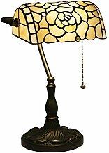 Europäische Barock Tischlampe Tiffany Stil
