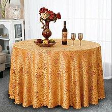 Europäische Blume Tischdecke Runde Tischdecke