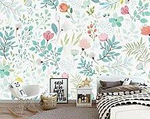 Europäische Blumen Tapete für Wohnzimmer Moderne
