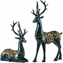 Europäische Deer Styling Ornamente Skulptur
