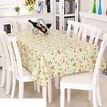 Europäische Garten Tischdecke/Einweg-Kunststoff-Folien für die Imprägnierung/Tischdecken/PVCTischdecke decke/ Öl-Mat-G 137x152cm(54x60inch)