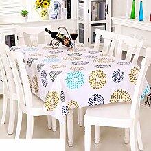 Europäische Garten Tischdecke/Einweg-Kunststoff-Folien für die Imprägnierung/Tischdecken/PVCTischdecke decke/ Öl-Mat-H 90x137cm(35x54inch)