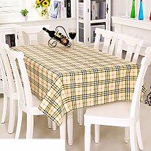 Europäische Garten Tischdecke/Einweg-Kunststoff-Folien für die Imprägnierung/Tischdecken/PVCTischdecke decke/ Öl-Mat-O 137x190cm(54x75inch)