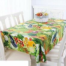 Europäische Garten Tischdecke/Einweg-Kunststoff-Folien für die Imprägnierung/Tischdecken/PVCTischdecke decke/ Öl-Mat-D 137x190cm(54x75inch)