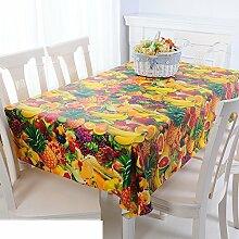 Europäische Garten Tischdecke/Einweg-Kunststoff-Folien für die Imprägnierung/Tischdecken/PVCTischdecke decke/ Öl-Mat-N 137x220cm(54x87inch)