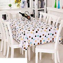 Europäische Garten Tischdecke/Einweg-Kunststoff-Folien für die Imprägnierung/Tischdecken/PVCTischdecke decke/ Öl-Mat-J 137x220cm(54x87inch)