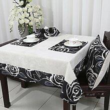 Europäische Garten Tischdecke/Neue klassische Tischdecke/ Tischtuch/Tischdecke decke-A 130x180cm(51x71inch)