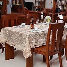 Europäische Glas Schwämme/ hollow Tischdecke/Rundtischdecken/Tischdecke decke/Tischdecken-B 110x160cm(43x63inch)