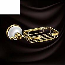 Europäische gold Antik Seifenschale/SOAP net/