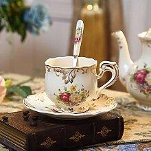 Europäische Kaffeetasse Set einfache