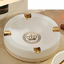 Europäische Keramik Aschenbecher/Praktische Ideen/Modische Wohnzimmer Tisch/Büro Dekoration-A