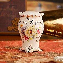 Europäische Keramik Zahnstocher-Box/ Zahnstocher-Flasche/ kreative Zahnstocher/Heimische Wohnzimmer Tisch Ornamente/ Dekoration-A