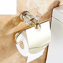 Europäische Kupfer Antik Handtuchhalter/Toilettenpapier-Regal/Bad Kleenexbox/WC-Papierhalter