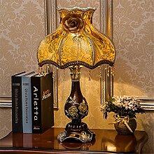 europäische lampe schlafzimmer mit lampe