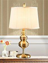 Europäische Luxus-Retro Eisen Tischlampe für Wohnzimmer, Schlafzimmer, Nachttischlampe
