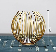 Europäische Metall Kerzenhalter Vertraglich
