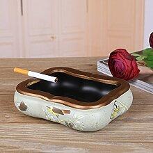 Europäische Mode Keramik Aschenbecher/Kreative Garten home Dekoration Aschenbecher-C