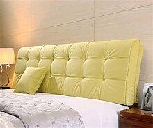 Europäische moderne minimalistische Bedside weichen Paket Bedside Kissen Stoff Bett Rückenlehne durch das Paket abnehmbare Kissen für 1,2 m Bett oder 1,5 m Bett ( farbe : #8 , größe : 150*58cm )