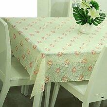 Europäische pastorale Spitze Tischdecke/Hot-Ölbeweis Einweg-Tischdecken/PVCwasserdichte Tapete/Tischdecke decke-K 60x136cm(24x54inch)